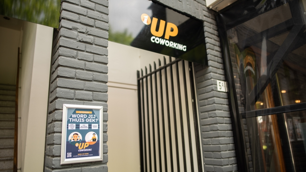 Coworking Tilburg 1Up - Flexplek Pieter vreedeplein